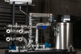 caldera fluido termico