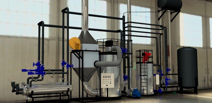 Sistemas de calentamiento industrial