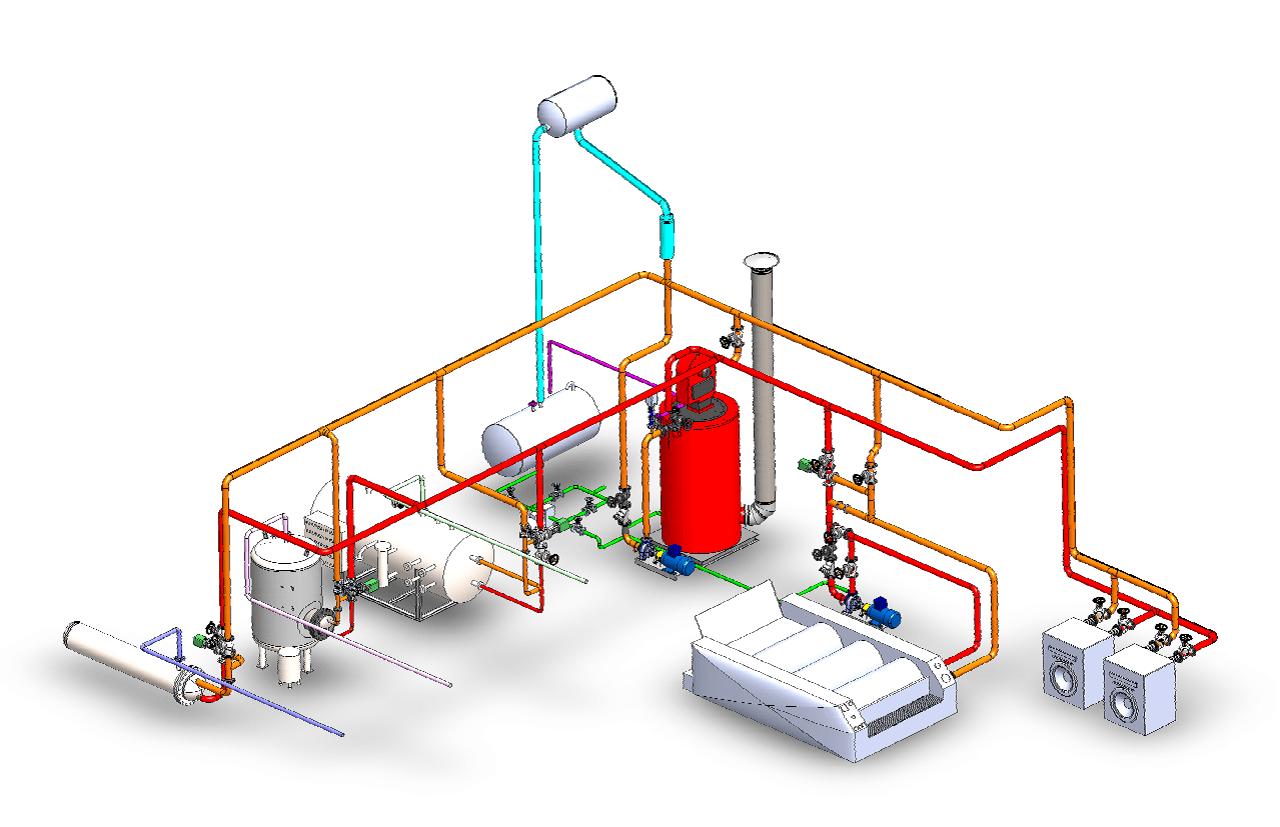 Lavadoras industriales Pirobloc